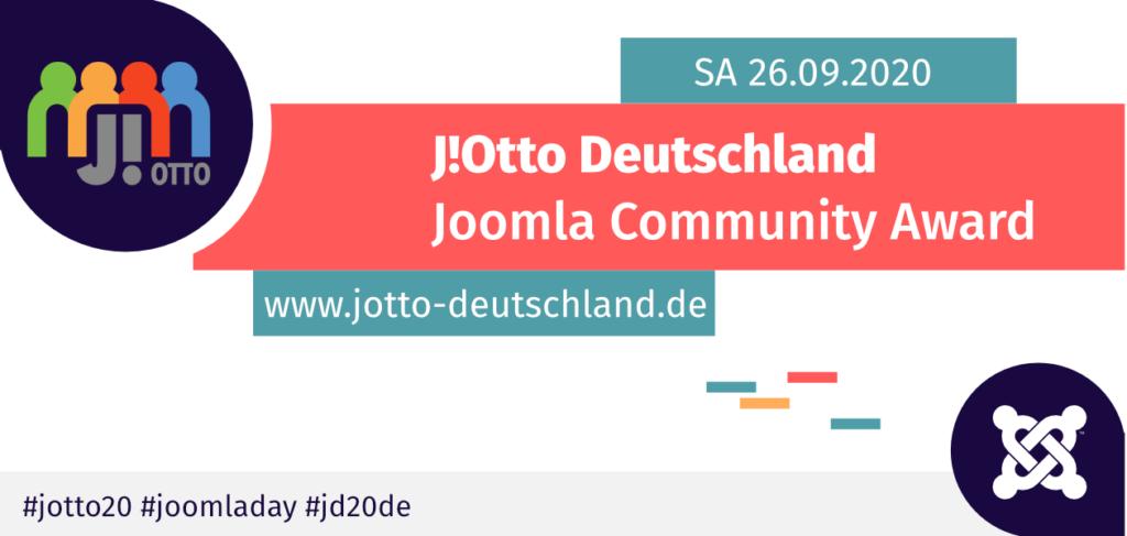 J!Otto Joomla Community Award 2020