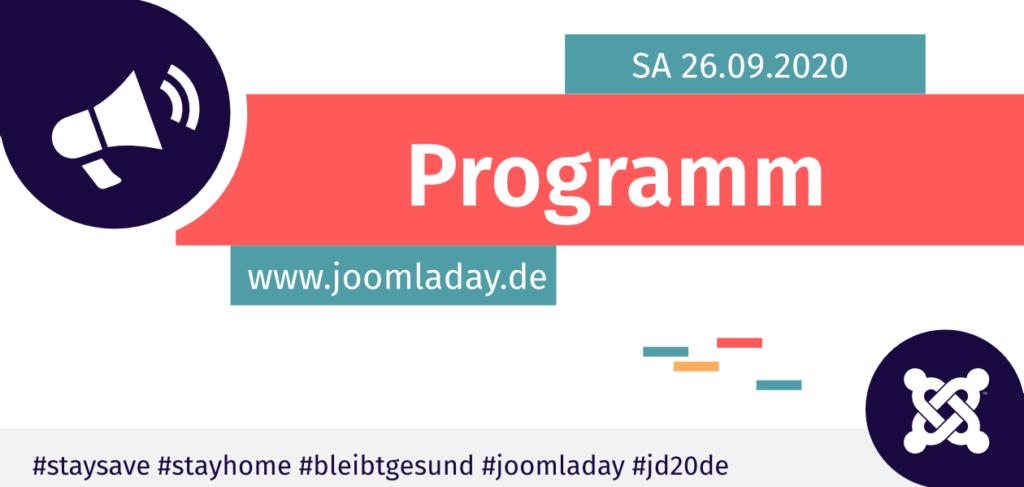 JoomlaDay 2020 Programm Teaser