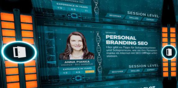 Personal Branding SEO Vortrag in der Open Digital City