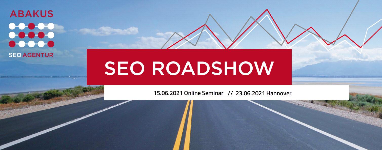 SEO Roadshow 2021 online und in Hannover